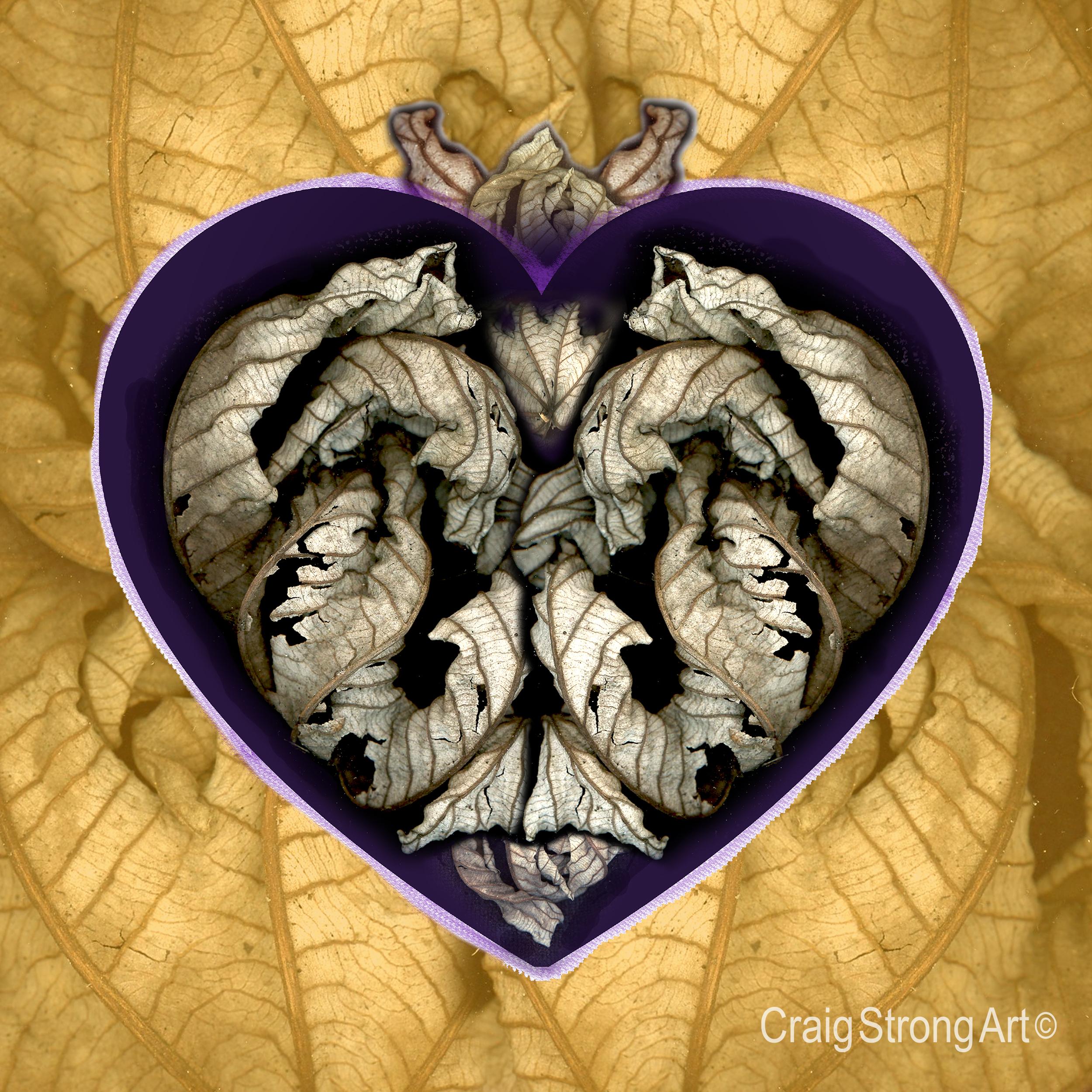 Corazón en oro